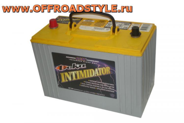 авто батарея AGM Deka Intimidator 100Aч доставка украина белгород россия курск