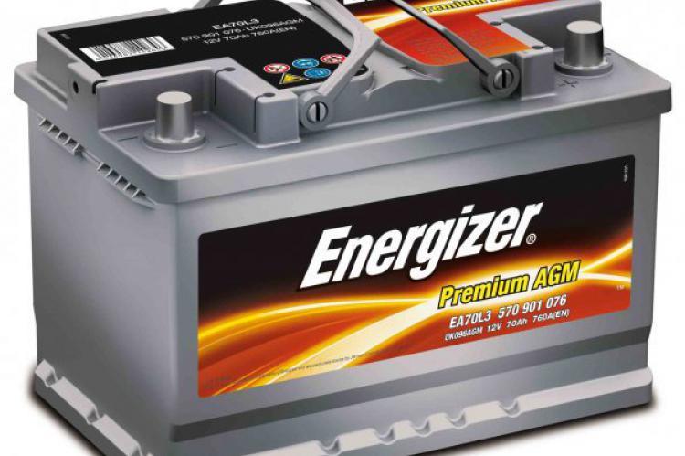 аккумулятор Energizer Premium AGM гелевый для дизеля для лебедки воронеж ростов