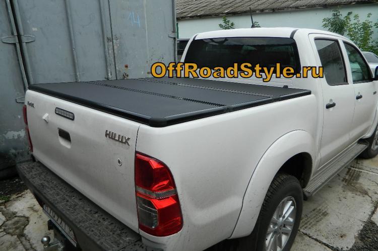 Крышка кузова Toyota Hilux алюминиевая 3х секционная белгород курск ростов тула