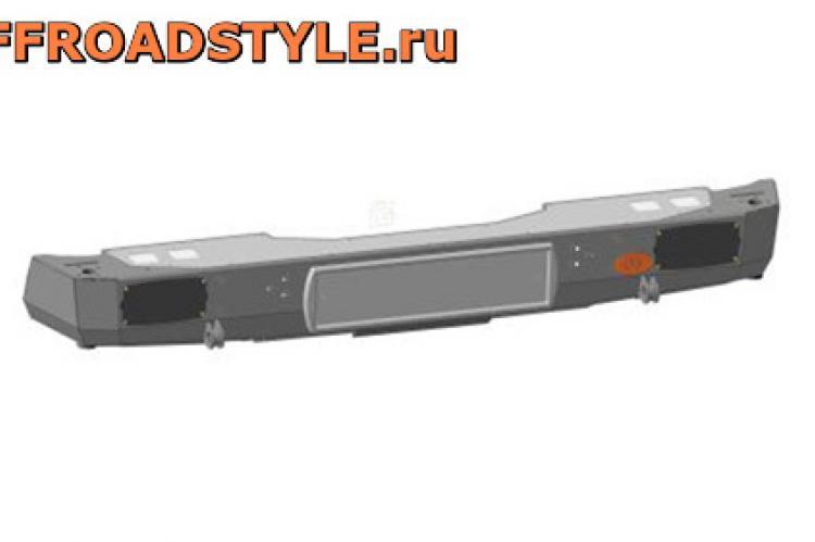 Задний силовой бампер с площадкой лебедки L 200 доставка в россии белгород курск