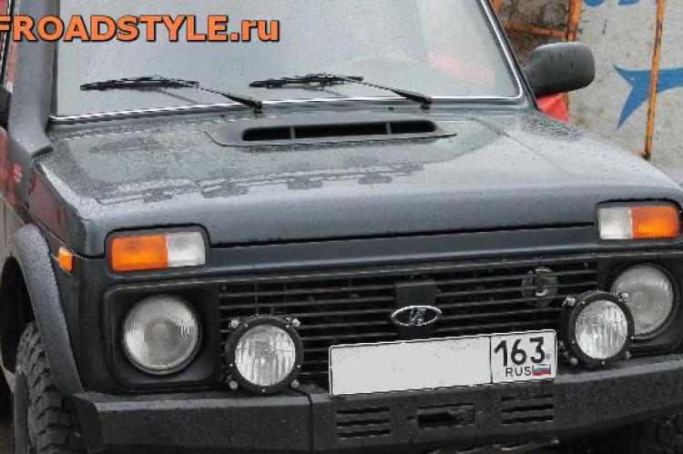 Передний силовой бампер под лебедку Lada4x4 Ф дизайн белгород курск ростов уфа