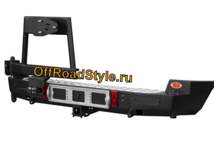 Задний силовой бампер с калиткой под запасное колесо Шевроле Нива белгород курск
