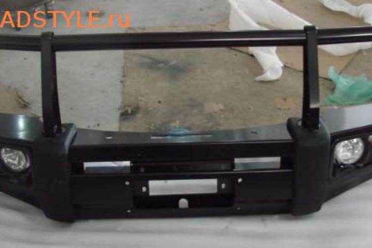 Бампер передний стальной Toyota Land Cruiser 90 доставка белгородк курск воронеж