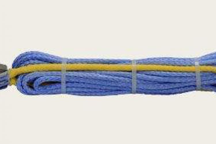 Удлинитель синтетического троса 7,5мм х 30м, обжат, с коушами белгород Губкин