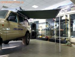 Автомобильный тент - маркиза товары для путешественников экспедиционный тент