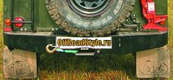 Бампер задний РИФ Land Rover Defender под лебедку краснодар воронеж липецк курск